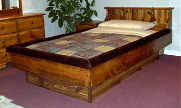 bookshelf waterbed frame - Water Bed Frame